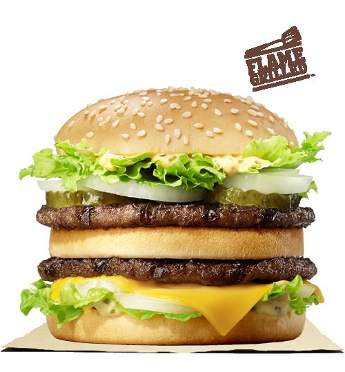 plu burger king
