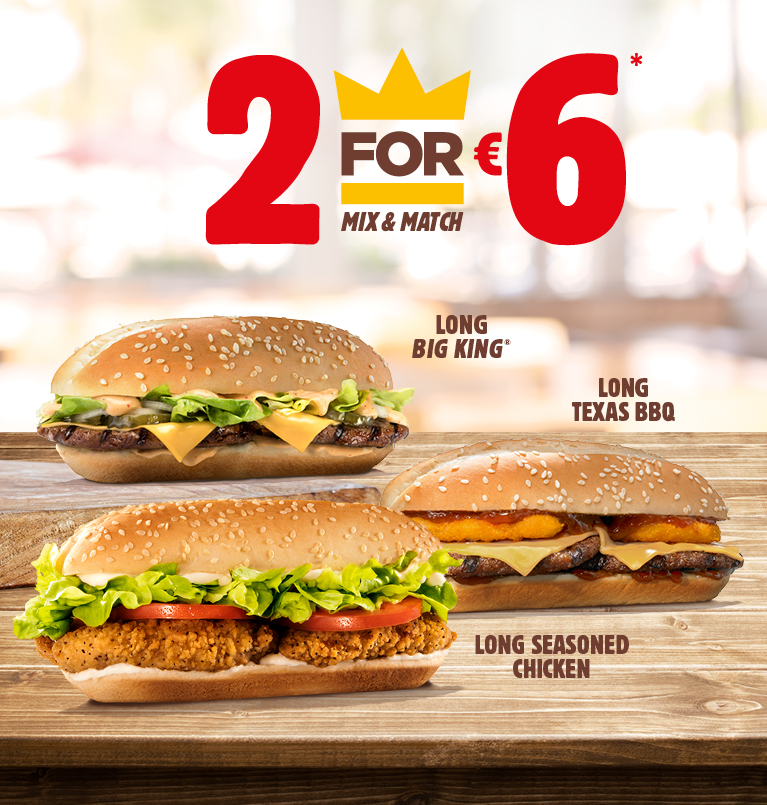 Homepage - Burger King